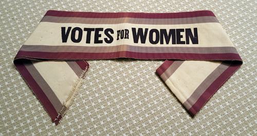 SuffragistSash VotesWomen