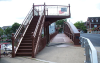 Main Street Lift Bridge East Side Stairs