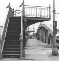 Main Street Lift Bridge Stairs